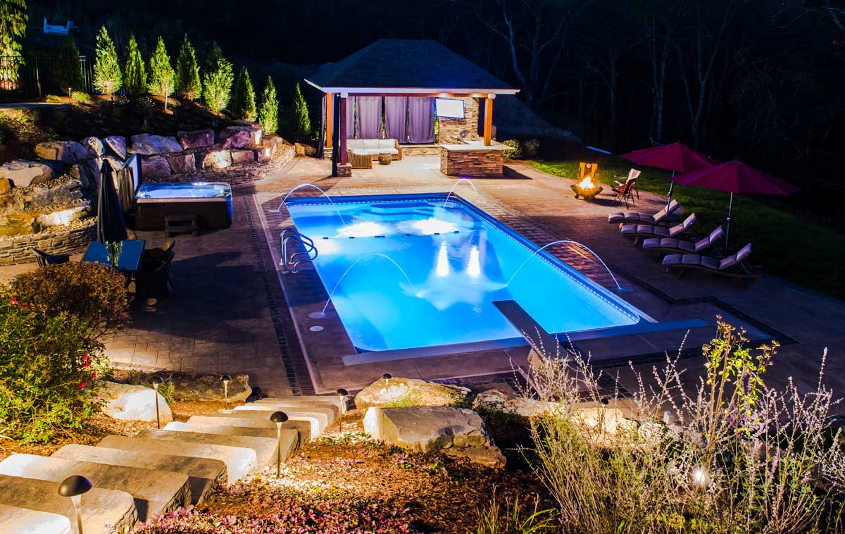 Lets stay in tonight... backyard havens by barrington homes PA